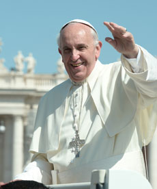 Pope Franics at World Youth Day